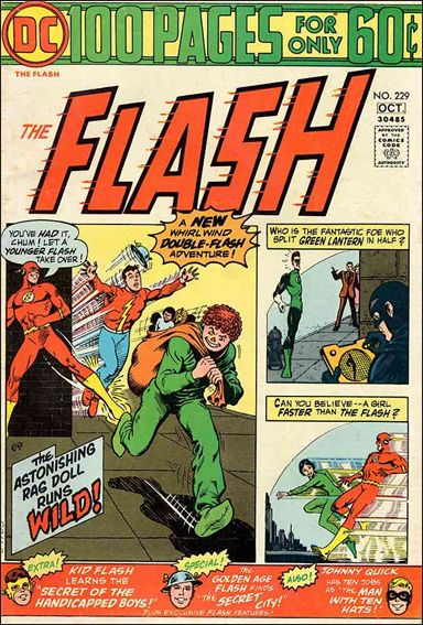 Flash (1959) 229-A by DC