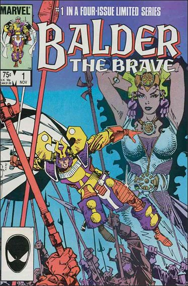 Balder the Brave 1-A by Marvel