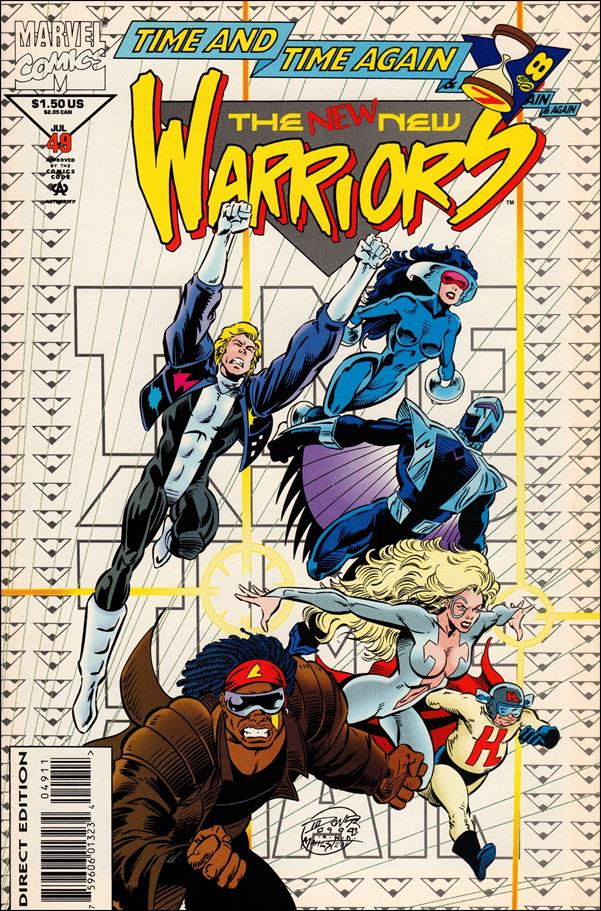New Warriors (1990) 49-A by Marvel
