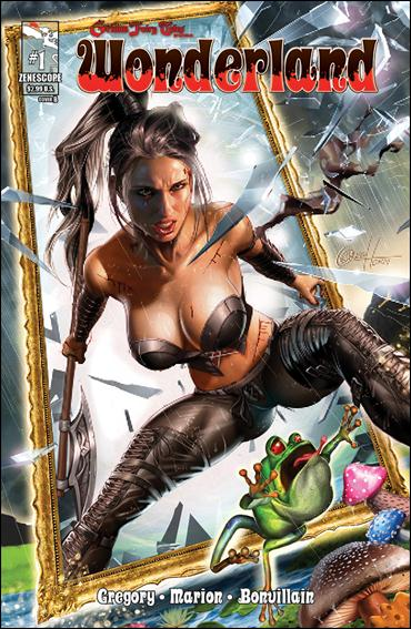 Grimm Fairy Tales Presents: Wonderland 1-B by Zenescope Entertainment