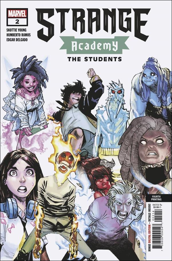 Strange Academy 2-F by Marvel