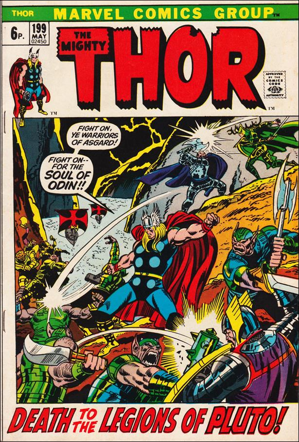 Thor (1966) 199-B by Marvel