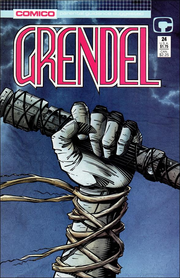 Grendel (1986) 24-A by Comico