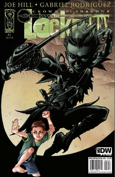 Locke & Key: Crown of Shadows 3-B by IDW