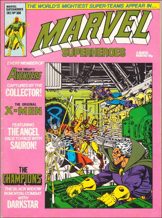 Marvel Superheroes (UK) 368-A by Marvel UK