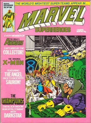 Marvel Superheroes (UK) 368-A