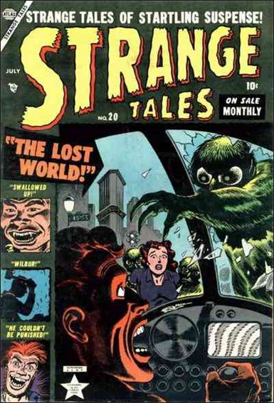 Strange Tales (1951) 20-A by Marvel