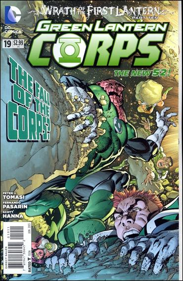 Green Lantern Corps (2011) 19-A by DC