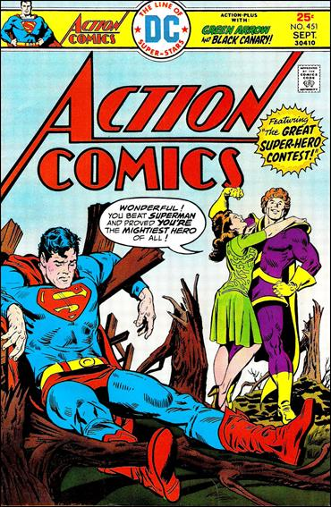 Action Comics (1938) 451-A by DC