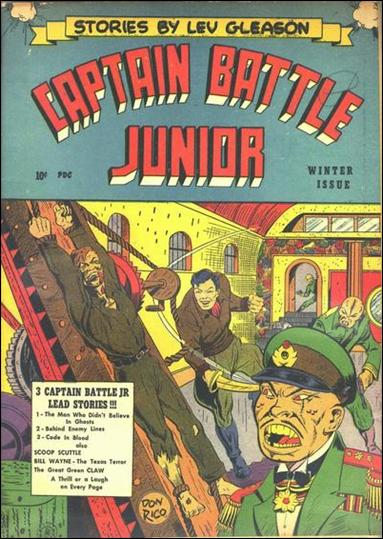 Captain Battle Jr. 2-A by Lev Gleason Productions