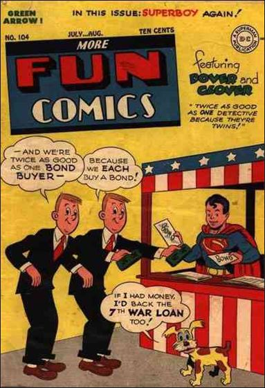 More Fun Comics 104-A by DC