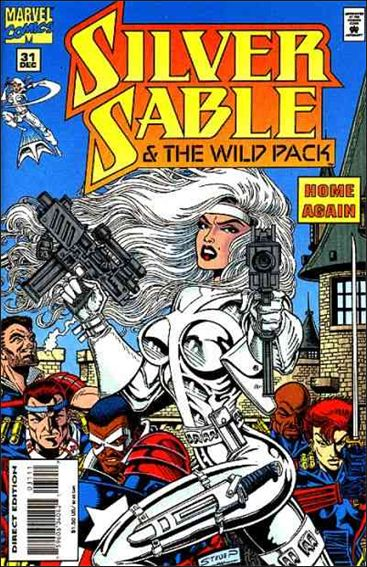 Silver Sable & The Wild Pack 31-A by Marvel
