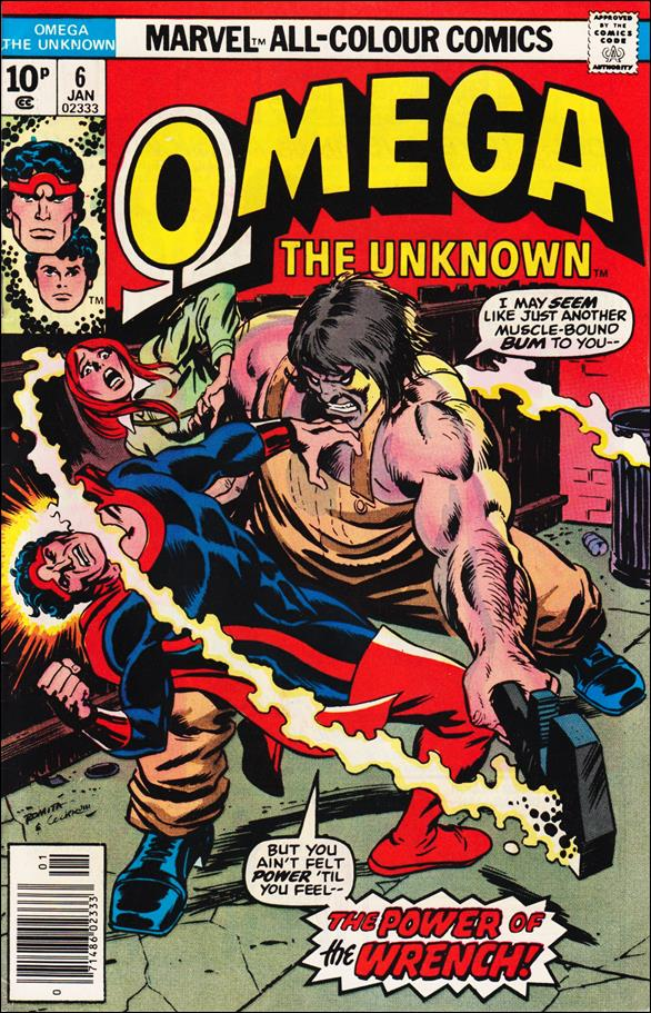 Omega: The Unknown (1976) 6-B by Marvel