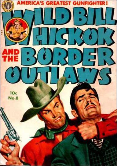 Wild Bill Hickok 8-A by Avon