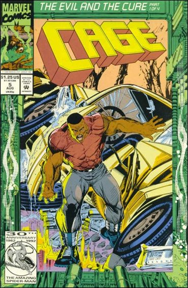 Cage (1992) 5-A by Marvel