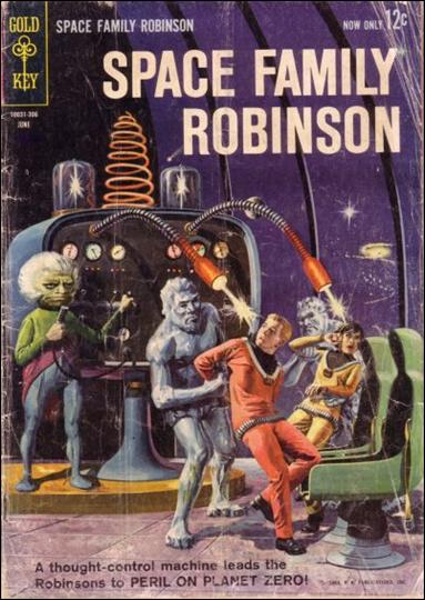 Space Family Robinson 3-A by Gold Key