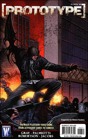 Prototype (2009) 6-A by WildStorm