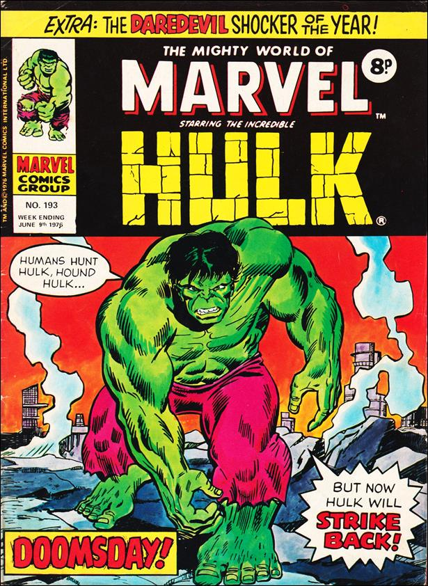 Mighty World of Marvel (UK) (1972) 193-A by Marvel UK