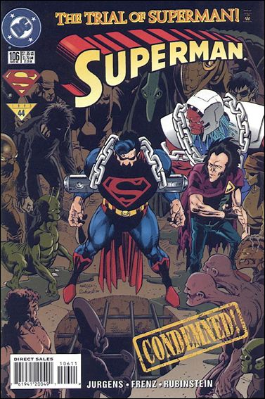 Superman (1987) 106-A by DC