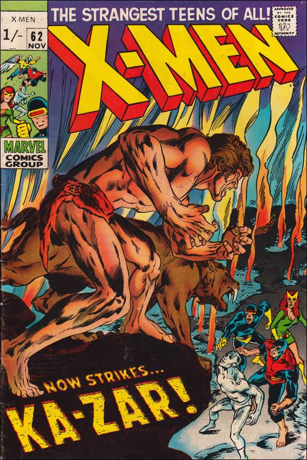 X-Men (1963) 62-B by Marvel