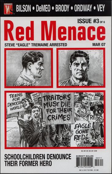 Red Menace 3-A by WildStorm