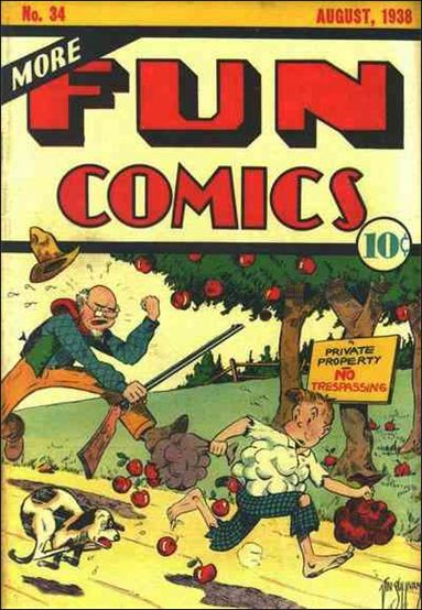 More Fun Comics 34-A by DC