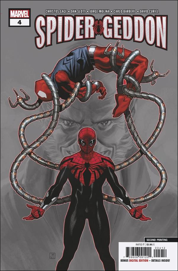 Spider-Geddon 4-E by Marvel