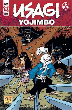 Usagi Yojimbo (2019) 9-A