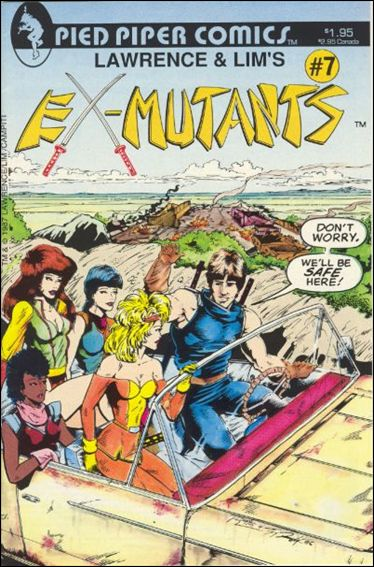 Ex-Mutants (1986) 7-A by Eternity