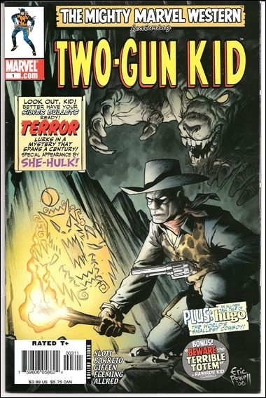 Marvel Westerns: The Two-Gun Kid 1-A by Marvel