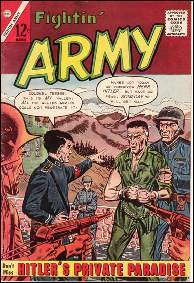Fightin' Army 51-A by Charlton