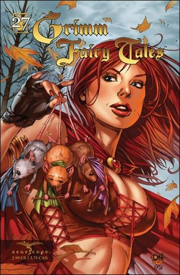 Grimm Fairy Tales (2005) 27-A by Zenescope Entertainment