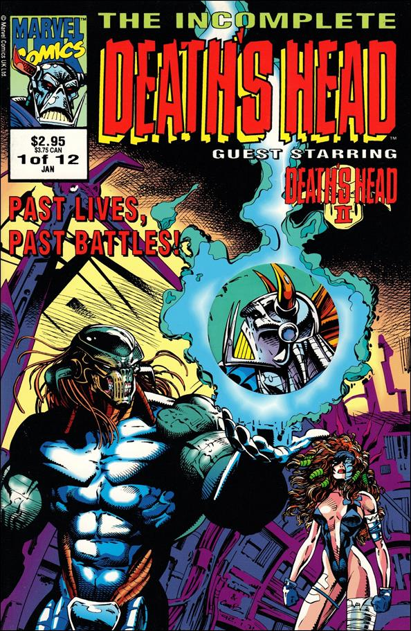 Incomplete Death's Head (UK) 1-A by Marvel UK