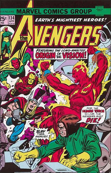 Avengers (1963) 134-A by Marvel