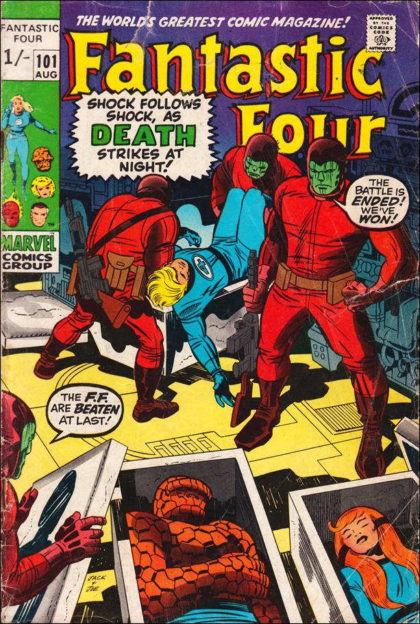 Fantastic Four (1961) 101-B by Marvel