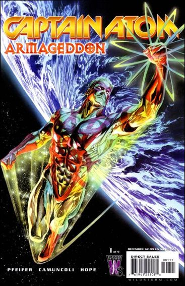 Captain Atom: Armageddon 1-A by WildStorm