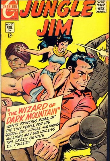 Jungle Jim (1969) 22-A by Charlton