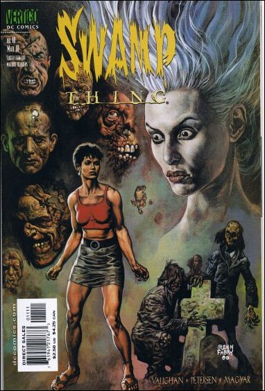 Swamp Thing (2000) 11-A by Vertigo