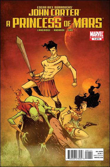 John Carter of Mars: A Princess of Mars 1-A by Marvel