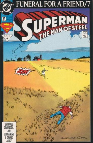 Superman: The Man of Steel 21-A by DC