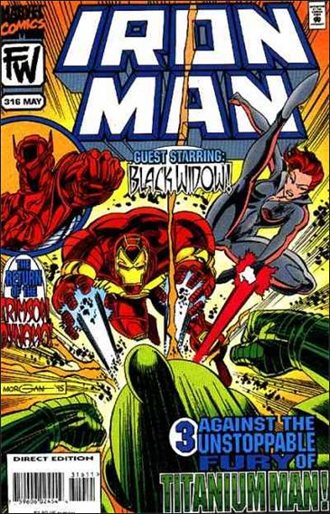 Iron Man (1968) 316-A by Marvel