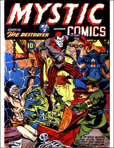 Mystic Comics (1940) 7-A by Timely