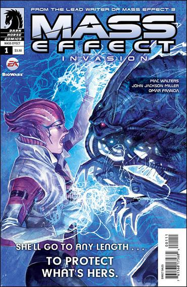 Mass Effect: Invasion 1-A by Dark Horse
