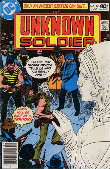 Unknown Soldier (1977)  241-A by DC