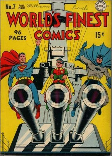 World's Finest Comics 7-A by DC