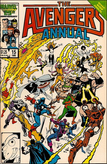 Avengers Annual (1967) 15-A by Marvel