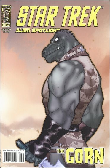 Star Trek: Alien Spotlight: Gorn 1-B by IDW
