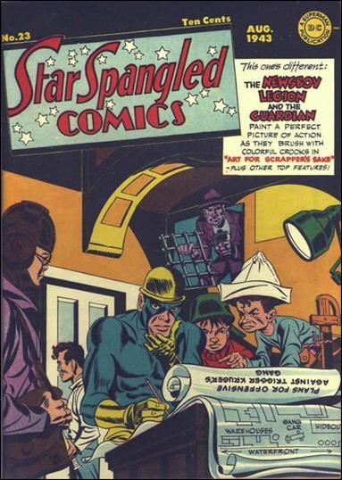 Star Spangled Comics (1941) 23-A by DC