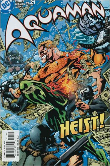 Aquaman (2003) 21-A by DC