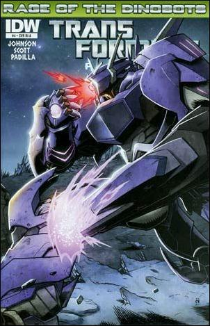 Transformers Prime: Rage of the Dinobots 4-B by IDW